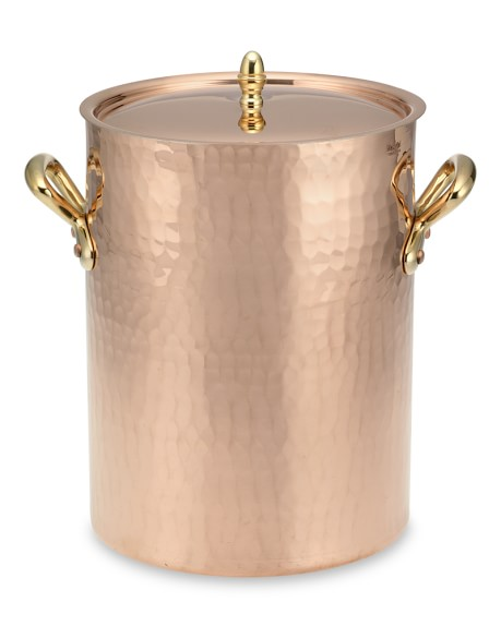 Mauviel Hammered Copper Soup Station