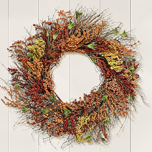 Autumn Berry Wreath, 22