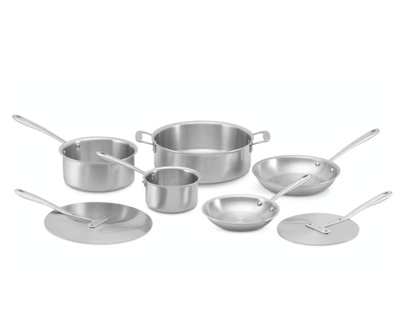 All-Clad TK™ 7-Piece Integrity Cookware Set