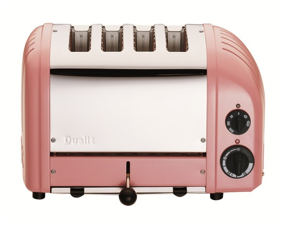 Dualit New Generation Classic 4-Slice Toaster, Petal Pink