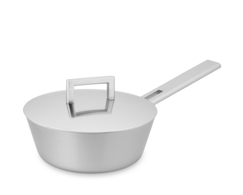 Demeyere John Pawson Stainless-Steel Flared Saucepan, 2.1-Qt.