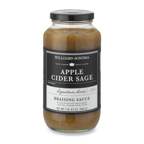 Williams-Sonoma Braising Sauce, Apple Cider Sage