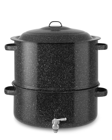Granite Ware Lobster Pot with Faucet