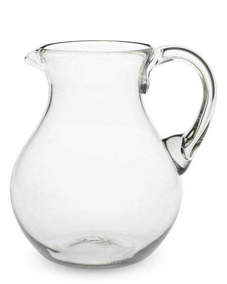 Clara Glass Pitcher