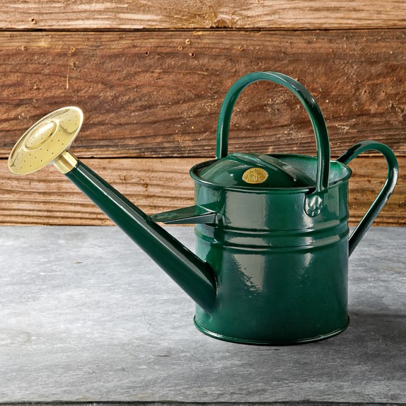 Haws Traditional Watering Can, Green
