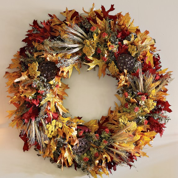 Fall Leaf Wreath, 28