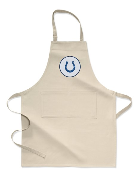 <i>NFL</i>&#8482; Indianapolis Colts Adult Apron, Khaki