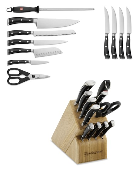 Wüsthof Classic Ikon 12-Piece Knife Block Set