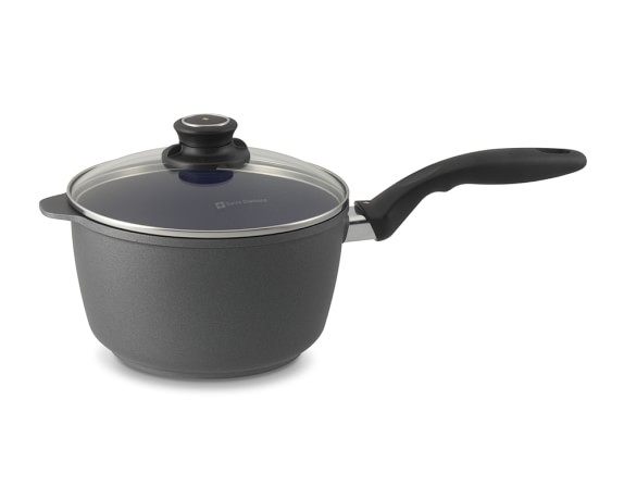 Swiss Diamond Nonstick Saucepan with Lid, 3-Qt.