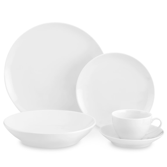 Pillivuyt Coupe 5-Piece Place Setting