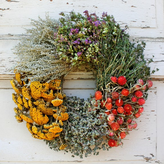 Floral Herb Wreath, 14