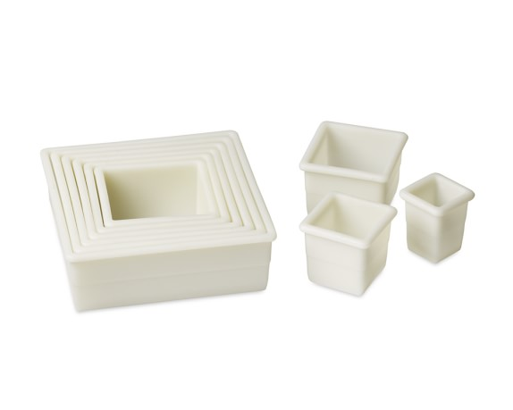 de Buyer Cookie Cutter Set, Square