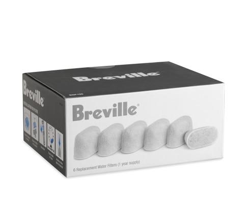 Breville Single-Serve Charcoal Filters, Model # BWF100