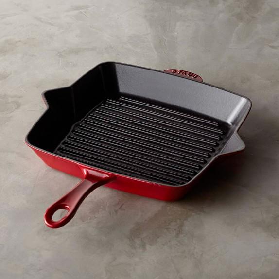 Staub Cast-Iron Grill Pan, 10