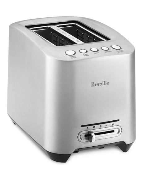 Breville Die-Cast Stainless-Steel Toaster, 2-Slice, Model # BTA820XL
