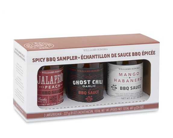 Williams-Sonoma Spicy BBQ Sauce Gift Set