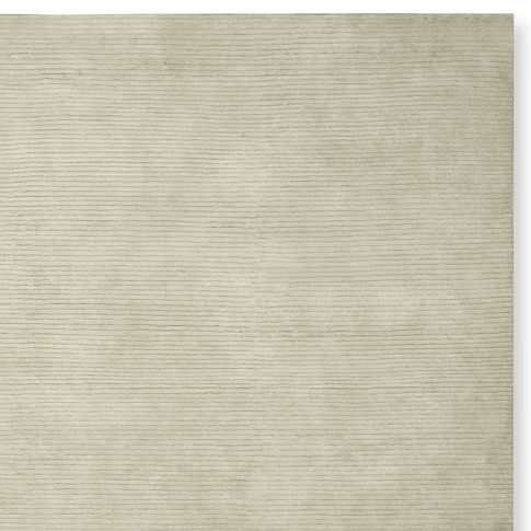 Textured Solid Rug Swatch, Ivory