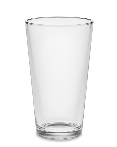American Pint Glass, Set of 6