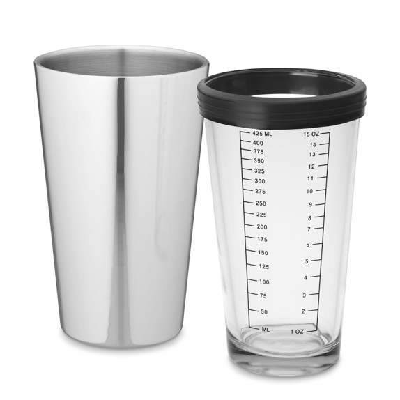 Double-Walled Boston Cocktail Shaker