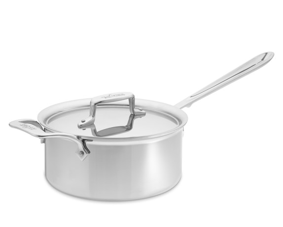 All-Clad d5 Stainless-Steel Saucepan, 3-Qt