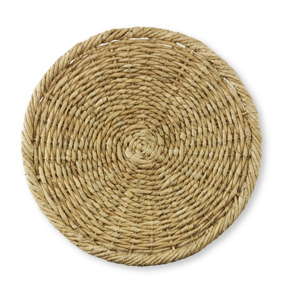 Woven Sea Grass Charger