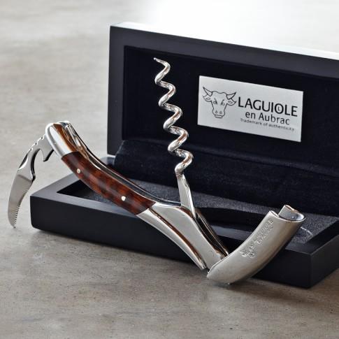 Laguiole En Aubrac Waiters Corkscrew Wine Opener, Amourette