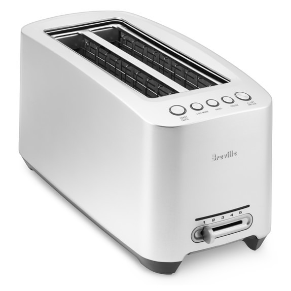 Breville Long Slot Die Cast Smart Toaster