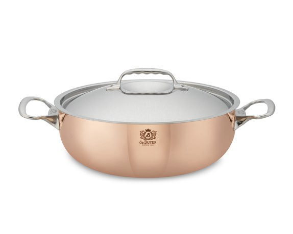 de Buyer Prima Matera Copper Braiser, 11