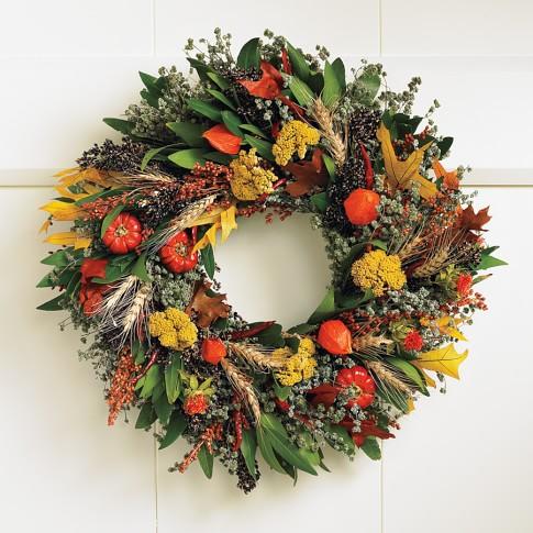 Fall Abundance Wreath, 20