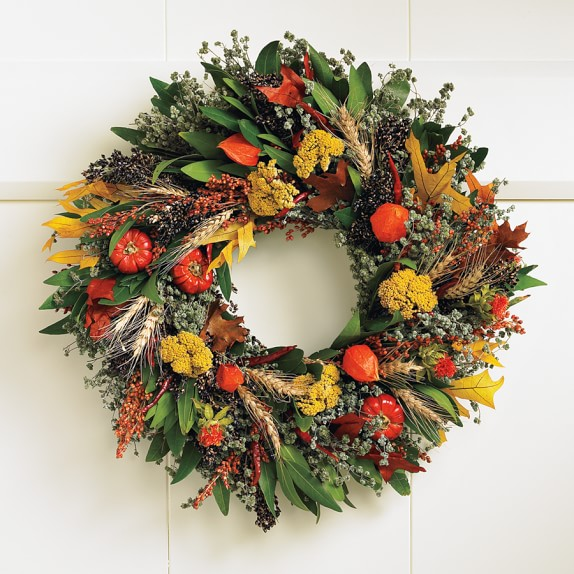 Fall Abundance Wreath, 20