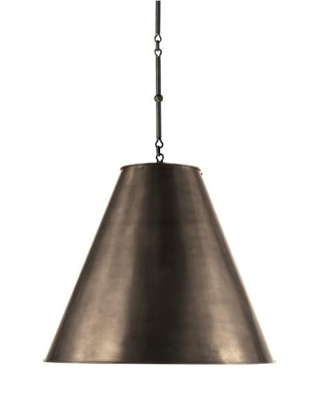Garrison Pendant, Oiled Bronze
