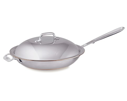 All-Clad Copper Core 4-Qt. Chef's Pan