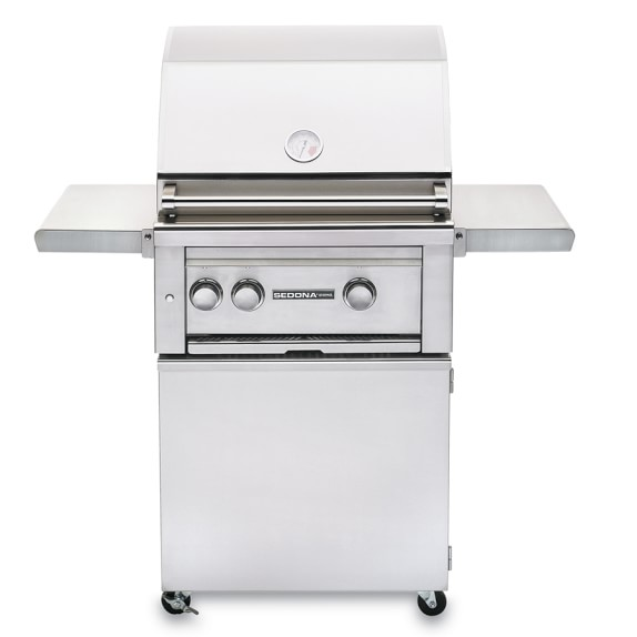 Sedona by Lynx Freestanding Grill, Natural Gas, No Rotisserie, 24
