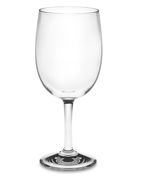 DuraClear® Red Wineglass, Set of 6
