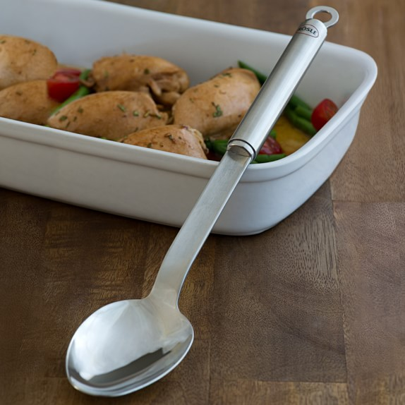 Rösle Stainless-Steel Basting Spoon