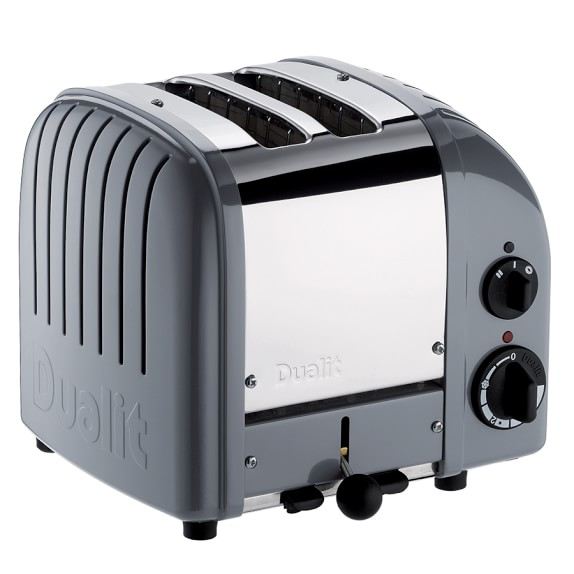 Dualit New Generation Classic 2-Slice Toaster, Gray