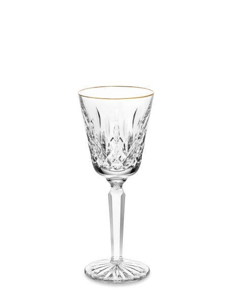 Waterford Lismore Tall Wine Glass, Gold