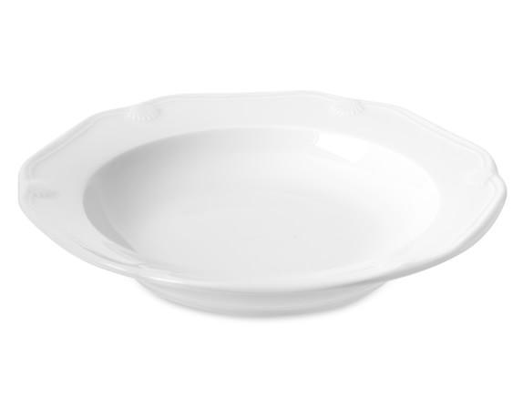 Eclectique Soup Plates, Set of 4, White