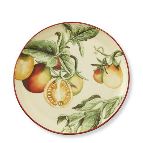 Botanical Tomato Salad Plates, Set Of 4, Yellow Pear