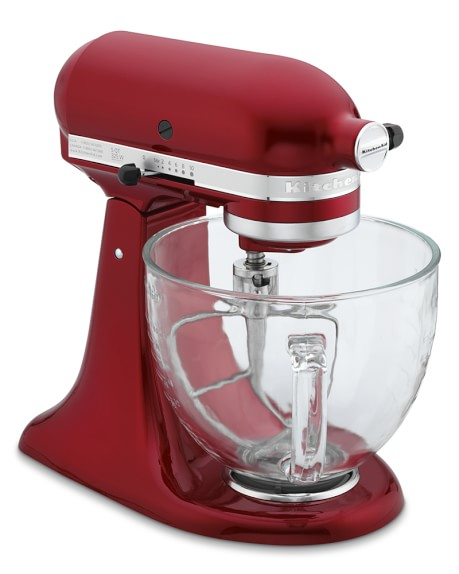 KitchenAid® Design Series Stand Mixer, Candy Apple Red