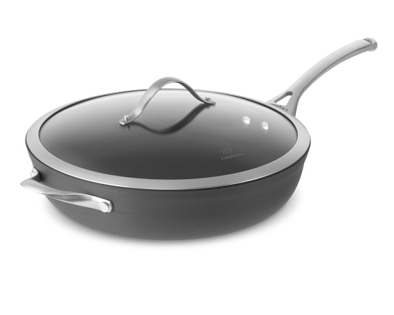 Calphalon Contemporary Nonstick Deep Sauté Pan with Lid, 13