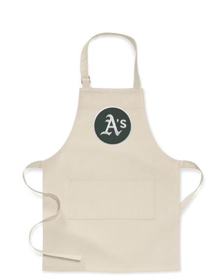 MLB™ Oakland Athletics, Kids Apron, Khaki