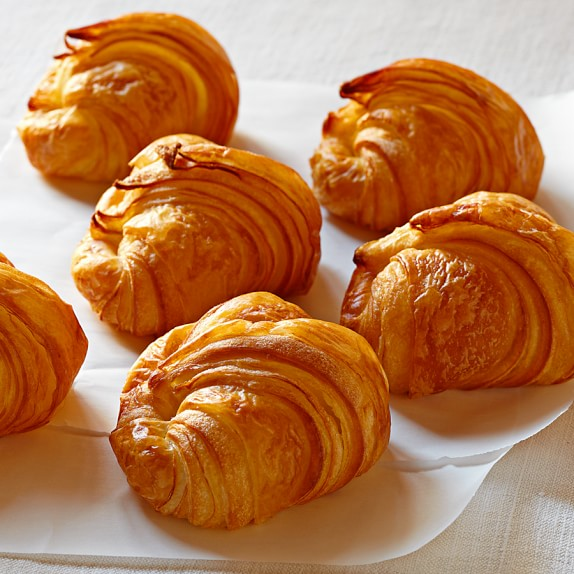 Mini Croissants, Set of 24