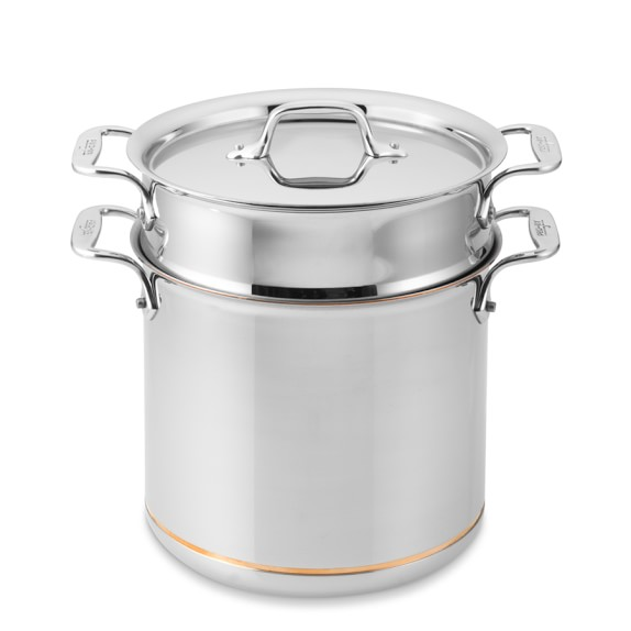 All-Clad Copper Core Pasta Pentola, 7-Qt.