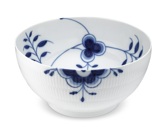 Royal Copenhagen Blue Fluted Mega Serving Bowl, Medium