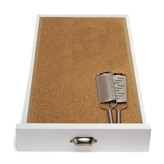 non adhesive cork shelf liner 1