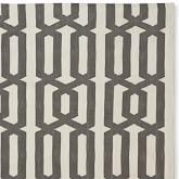 Graphic Link Indoor/Outdoor Rug Swatch, Gray/Egret