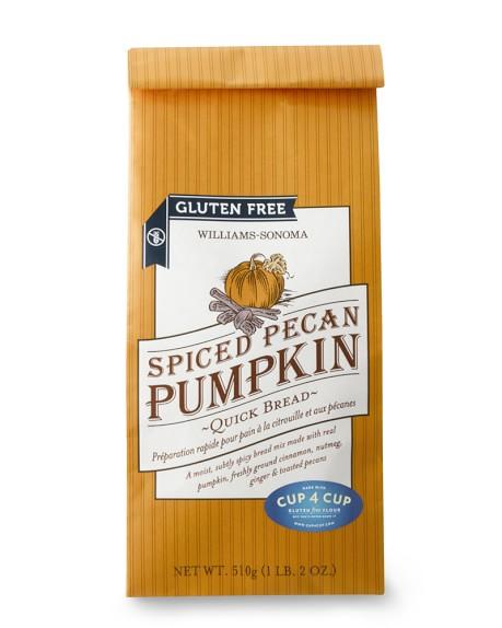 Williams-Sonoma Gluten-Free Spiced Pecan Pumpkin Quick Bread Mix, Set of 2