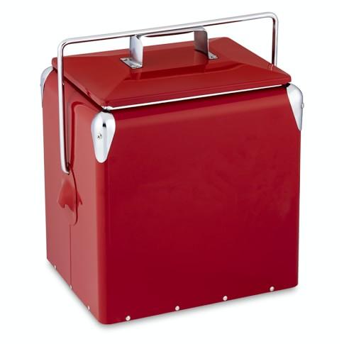 Vintage Red Cooler