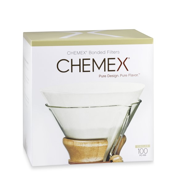 Chemex® Prefolded Circle Filter, Set of 100